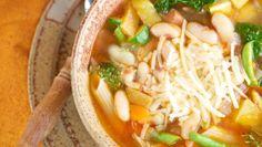 Italian Style White Bean & Kale Soup