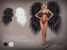Angel wings for you, you can find it in hat Found in TSR Category 'Sims 4 Female Hats'