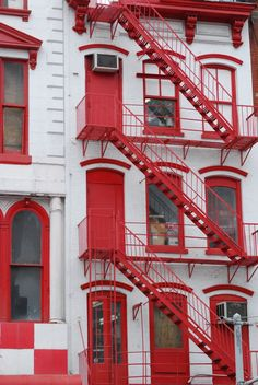 NYC ♥ NYC: Fire Escape Stairs In SoHo And Chinatown