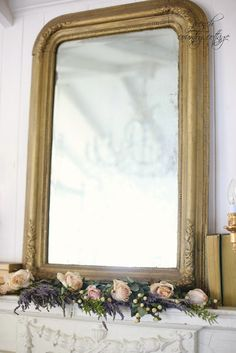 Simple and easy fix to transform a vintage mantel