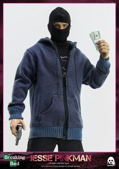 """1/6th scale #JessePinkman #collectible is a 12"""" (30.5cm) tall articulated figure featuring tailored clothing, various accessories, and a realistic likeness to the character portrayed on screen.  Pre-order will begin on August 21st 09:00AM Hong Kong Time at www.threezerostore.com for 150USD/1160HKD with shipping included. Full info at our FB page: https://www.facebook.com/media/set/?set=a.1182904238402069.1073741933.697107020315129&type=1&l=0695ae5ea6 #threezero #BreakingBad #toys…"""