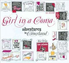 Girl In A Coma - Adventures In Coverland, Black