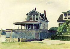 Edward Hopper - Houses on the Beach, Gloucester