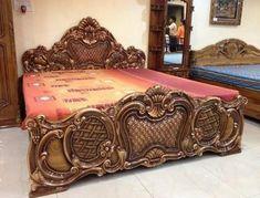 Home Decor – Decor Ideas – decor Classic Bedroom Furniture, Bedroom Furniture Design, Bed Furniture, Rococo Furniture, Modern Bedroom, Furniture Ideas, Bedroom False Ceiling Design, Bedroom Bed Design, Box Bed Design
