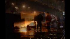 Most Łazienkowski w Warszawie stanął w ogniu. Płonie konstrukcja