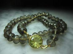 Rauchquarz - Rauchquarz Kette Gold Citrin Amethyst Ring TOM K. - ein Designerstück von TOMKJustbe bei DaWanda