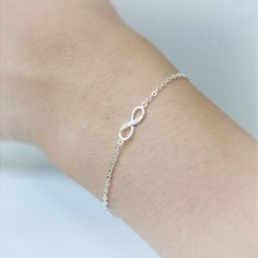 Infinity Bracelet /  Choose your color / gold and by laonato, $15.00