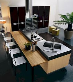 Easy Tips Modern Kitchen Remodel & 50+ Awesome Inspirations