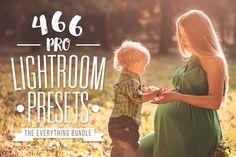Pro Lightroom Presets Bundle by Presets Galore on Creative Market