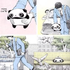 Oh, he saved him from getting hit by a car!! <3 ~wibble~
