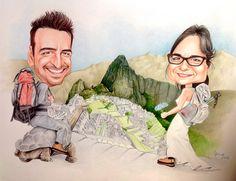 #Tableau de Mariage# Giacomo e Elisa# viaggio di nozze