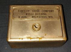 W.F. BURNS CO. CHICAGO TRAVELLING BANK  OF FIDELITY TRUST COMPANY # A338…