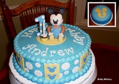 Baby Mickey First Birthday...So cute I love this one!!!