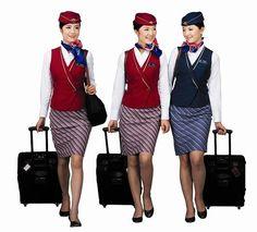 The Flight Attendant Life. Ukraine Intl. Airlines - Ukraine ...