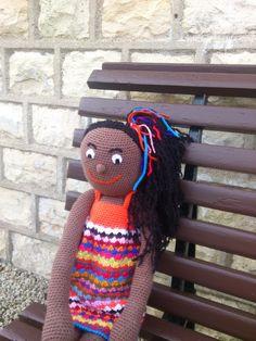 Poupée Zoa en laine au crochet : Jeux, jouets par douem