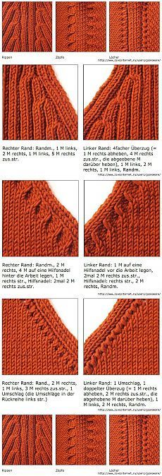Raglan stricken, Raglan stricken, You are in the right place about Knitting Techniques edges Here we offer you the most beautiful pictures a Knitting Help, Knitting Stiches, Knitting Charts, Crochet Stitches, Hand Knitting, Knitting Machine, Knitting Patterns, Knitting Projects, Knitting