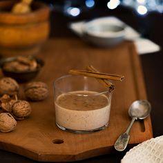 Walnut cream. Crema de nueces o Intxaursalsa. Puede hacerse low carb reemplazando el azucar