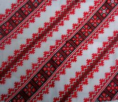 Vintage Red Ukrainian