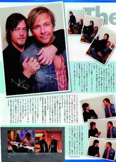 Reedus and Flanery in Japan