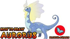 Learn How To Draw Aurorus Pokemon ** Leave the comments for your request about the news lesson! Please help our channel grow by giving LIKES, sharing with fr. Pokemon Ash Greninja, Draw Pokemon, Pokemon Charmander, Pokemon Sun, Pokemon Cards, Drawing Animals, Animal Drawings, Aurorus Pokemon, Drawing Tutorials