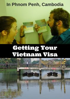 How to get your Vietnam visa in Phnom Penh, Cambodia. We'll tell you whether you should use an agent or get your Vietnam visa on your own, independently. #vietnamvisa #phnomphenh #cambodia #vietnam
