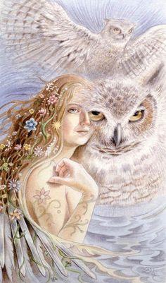 """Blodeuwedd"""" by Lisa Hunt"""