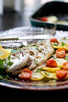 Niets is zo lekker en vooral makkelijk als een visje in de oven bereiden....