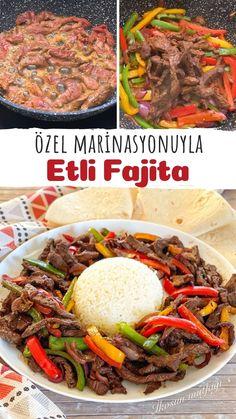Turkish Recipes, Fajitas, Frozen Yogurt, Desert Recipes, Deserts, Good Food, Food And Drink, Dinner, Food