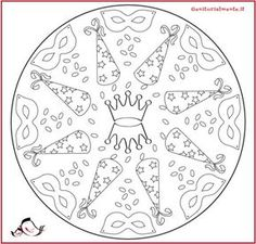 Fasching Im Kindergarten- Fasching Im Kindergarten Carnival mandala to print and color Mandalas Painting, Mandalas Drawing, Mandalas For Kids, Coloring Books, Coloring Pages, Carnival Crafts, Picasa Web Albums, School Art Projects, Mask Party