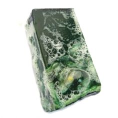 One of my favorite soaps, Demon in the Dark from LUSH! It's super minty and great for morning showers when it's hard to wake up and get moving!