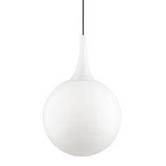 Buy the Pele Pendant by Tech Lighting Home Lighting, Pendant Lighting, Lighting Ideas, Ceiling Fixtures, Ceiling Lights, White Pendant Light, Stuff To Buy, Ceiling Light Fittings, Ceiling Lamps