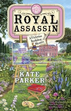 """The Royal Assassin by Kate Parker. """"When the Duke of Blackford enters her bookstore, Georgia knows the Archivist Society is in need of her services. The Tsar of Russia and his family are visiting Queen Victoria on the auspices of the engagement of the Russian princess Kira to the son of the Queen's cousin. When Kira's bodyguard is found dead on a train returning from Scotland, the Queen calls on Blackford to discreetly protect the princess and prevent an international incident.""""…"""