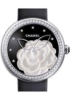 Chanel - Mademoiselle Prive 37.5mm Quartz Watch H3096