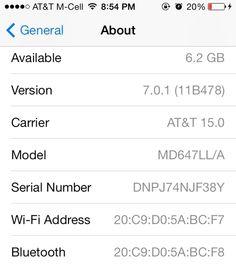 Apple ปล่อยอัพเดท iOS 7.0.1 สำหรับ iPhone 5s และ iPhone 5c