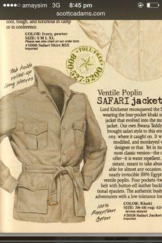 Vintage banana republic safari jacket