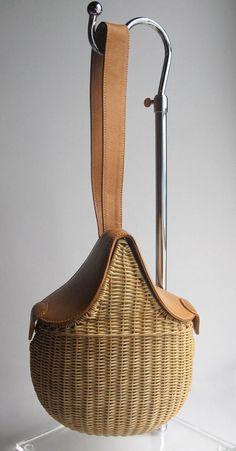 Wicker bag on Pinterest | Wicker, Rattan and Baskets