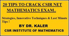 CSR Institute of Mathematics Net Jrf Maths Coaching Chandigarh. CSR Is the top Institute of CSIR-UGC-NET Mathematics in Chandigarh. CSR is a well – known name in the field of innovative Mathematical education and learning. Since its inception in Math Coach, Chandigarh, Maths, Mathematics, Coaching, Education, Learning, Top, Math