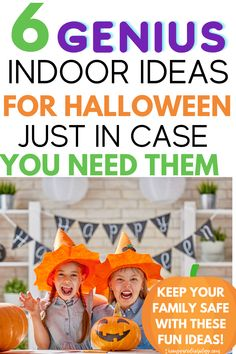 Halloween 2020 is turning out to be more tricky and less treaty. So much so I'm making up words - ha! Here are six great indoor Halloween ideas to help you celebrate this year. Find the best Halloween activties for your family to help keep everyone safe this year. Halloween Themed Movies, Fun Halloween Crafts, Halloween This Year, Halloween Boo, Outdoor Halloween, Halloween Activities, Craft Activities For Kids, Halloween 2020, Halloween Treats