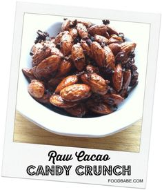 Raw Cacao Candy Crunch on http://foodbabe.com