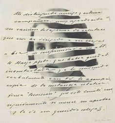 w o r d s .... great idea for a journal page, with text from an old family letter or document