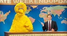 """#SNL #DebateNight #PBS  """"There's always all this swirl,"""" Mr. Michaels said, describing the build-up to the show, """"and then you're fighting to get Big Bird on the phone."""" - Lorne Michaels"""