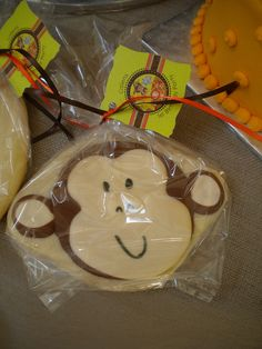 Safari Birthday Cookie Favor
