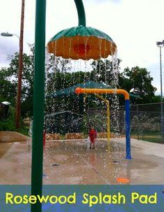 Rosewood Park: Splash Pad, Pool, & Playground