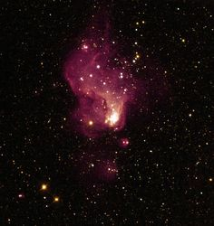 A Giant Star Factory in Neighboring Galaxy NGC 6822