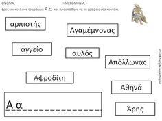 ΦΥΛΛΑ ΕΡΓΑΣΙΑΣ ΜΕ ΤΗΝ ΑΒ ΓΙΑ ΤΗ ΜΟΥΣΕΙΑΚΗ ΑΓΩΓΗ   (Α' ΜΕΡΟΣ) Greek Mythology, Blog, Blogging