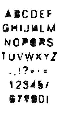 Alphabet #typography #design