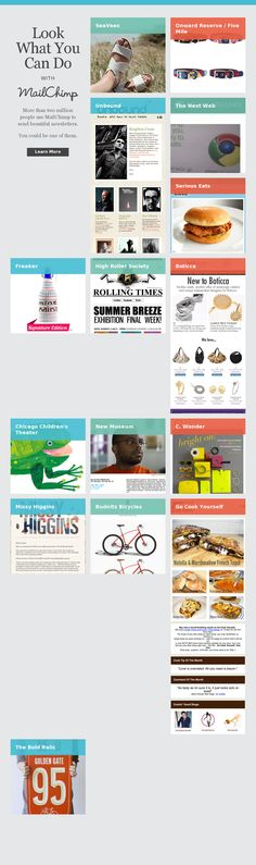 Ux email design on pinterest responsive email email for Beautiful newsletter design