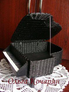 ♥♥♥Для вас♥♥♥ – 77 фотографий Newspaper Basket, Newspaper Crafts, Paper Weaving, Weaving Art, Paper Furniture, Marriage Decoration, Cardboard Paper, Polymer Clay Crafts, Paper Beads