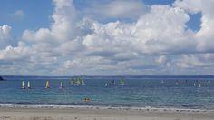 Prachtig strand in Bretagne