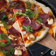 alatikaipiperi.gr - Πίτσα με σαλάμι Λευκάδος, φέτα & καυτερή πιπεριά